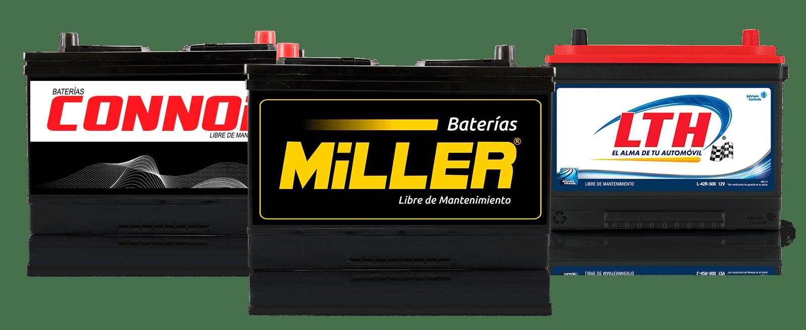 Cotizar batería en Mister Baterías Guatemala - LTH Miller Connor con instalación a domicilio gratis